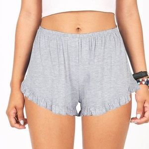 John Gaft x Brandy Melville Grey Shorts